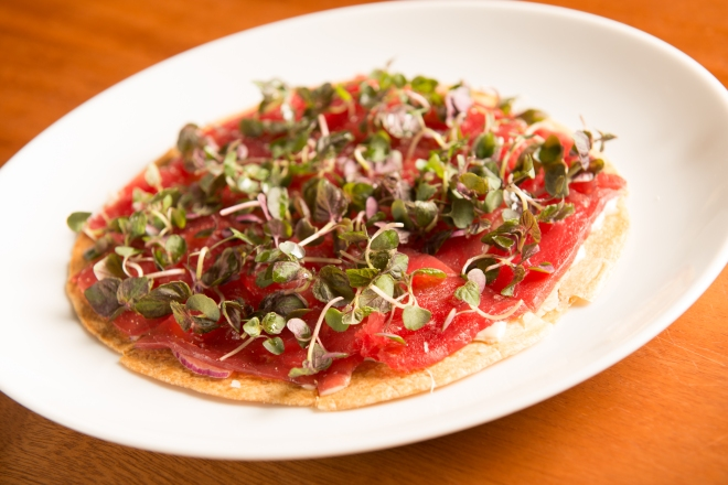 "Big- Eye Tuna ""Pizza"""