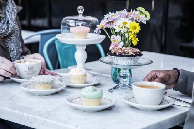 Café y Cupcakes